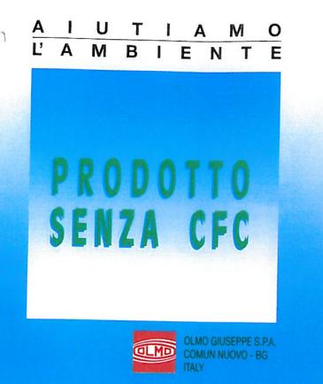 certificato no cfc olmo gomma piuma